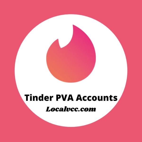 Tinder PVA Accounts