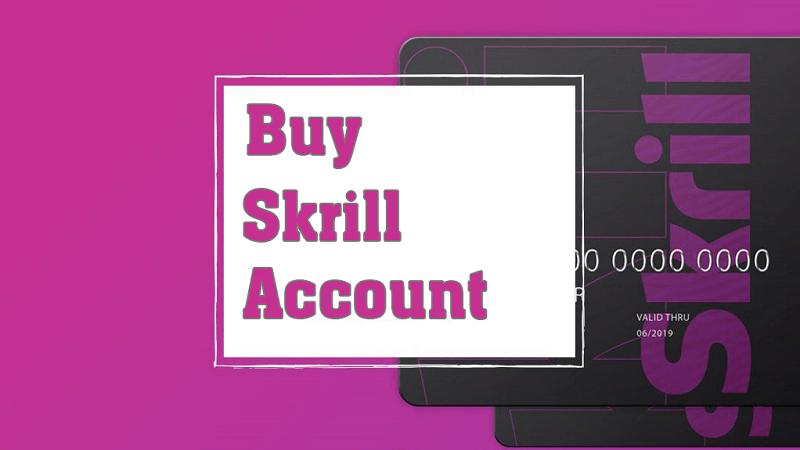 Buy Skrill Accounts
