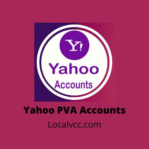 buy yahoo pva accounts
