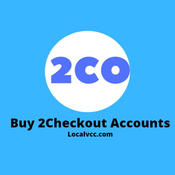 Buy 2Checkout accounts