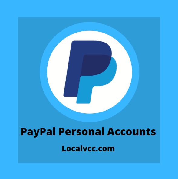 BuyPayPal Personal Accounts