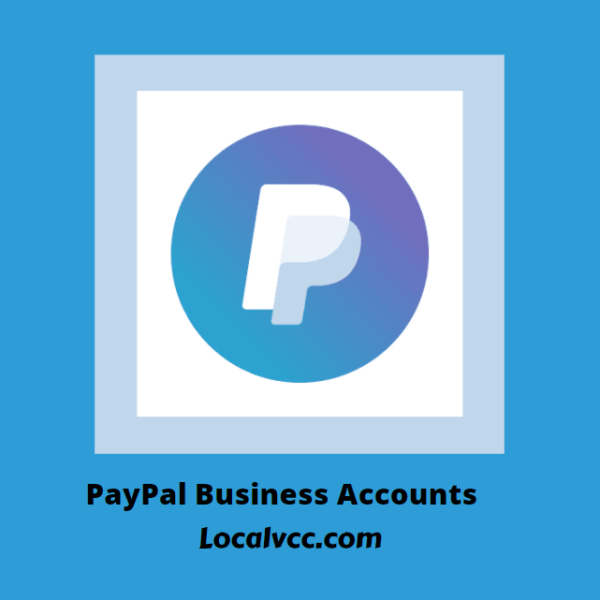 Buy PayPal Business Accounts