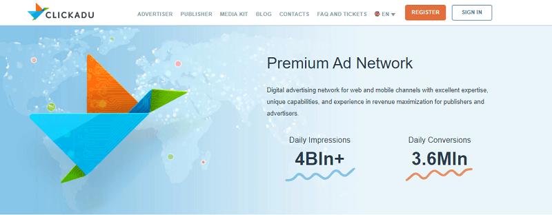 Buy Clickadu Accounts