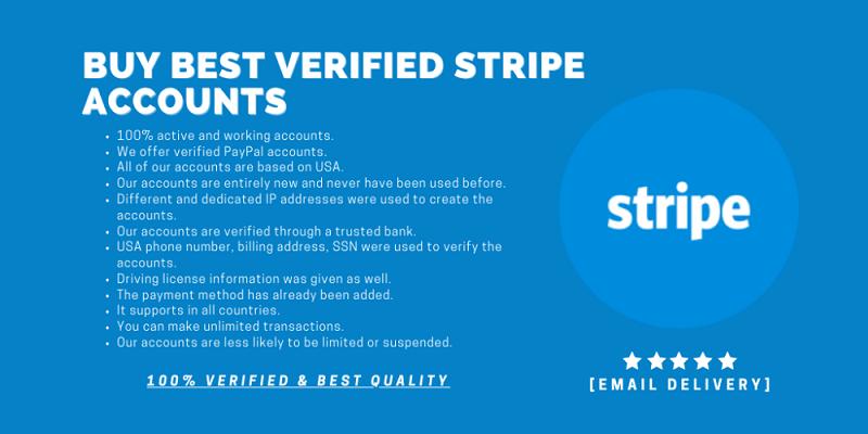 Buy Stripe Accounts